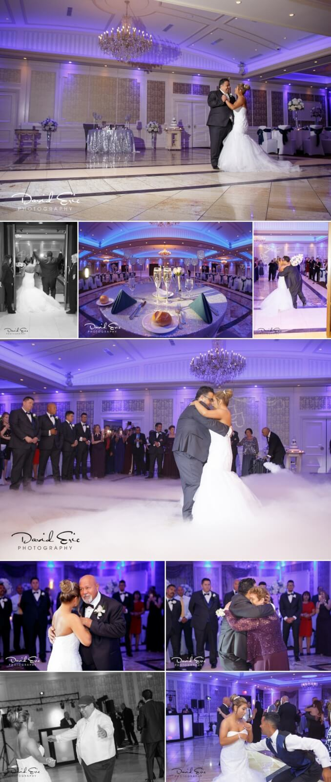 A beautiful wedding documented by David Eric Photography. Reception held at The Terrace in Paramus, NJ.
