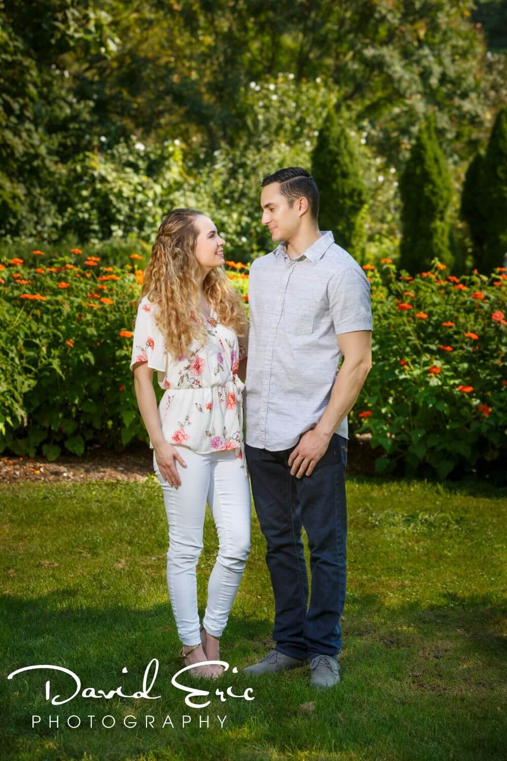 Engagement Session at the New Jersey Botanical Gardens