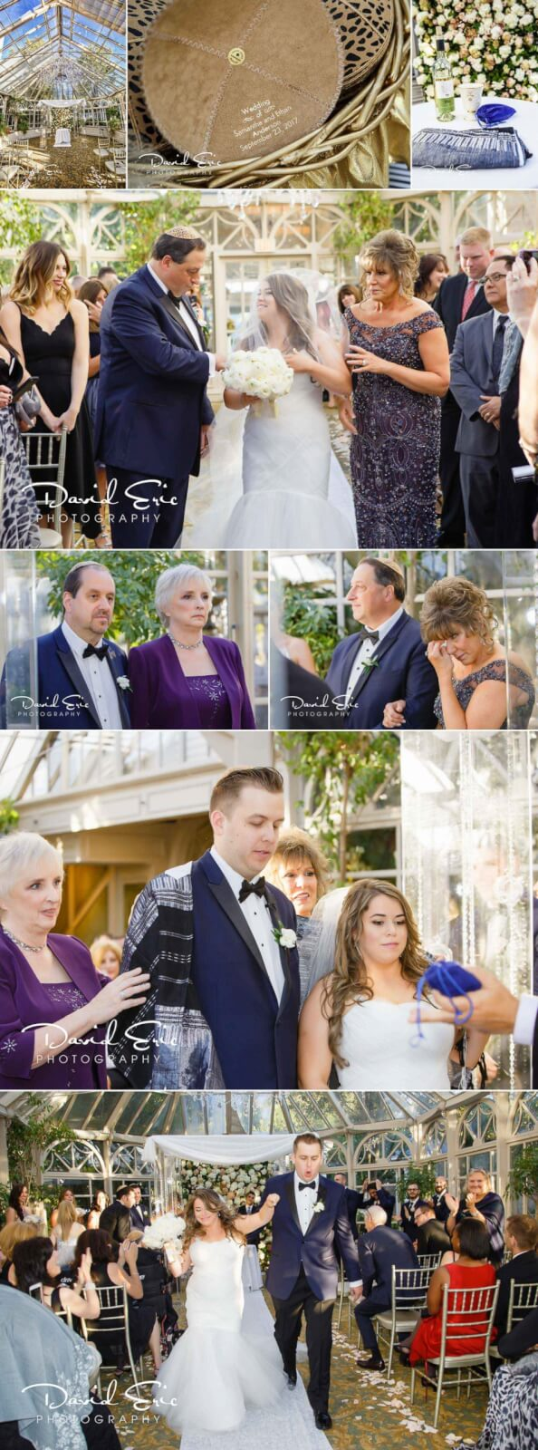 Wedding at The Brownstone photos and detials of a Jewish Ceremony