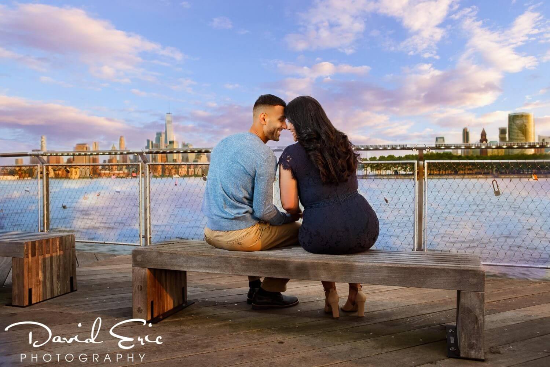 Engagement session in Hoboken