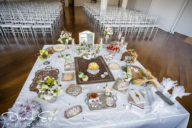 Persian Table at a New Jersey Wedding