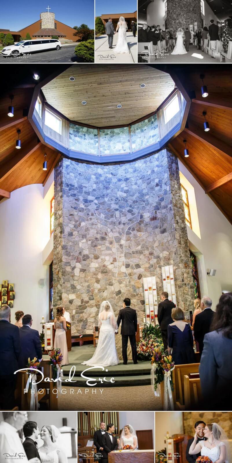 Lake Valhalla Club photos of the ceremony at Resurrection Parish