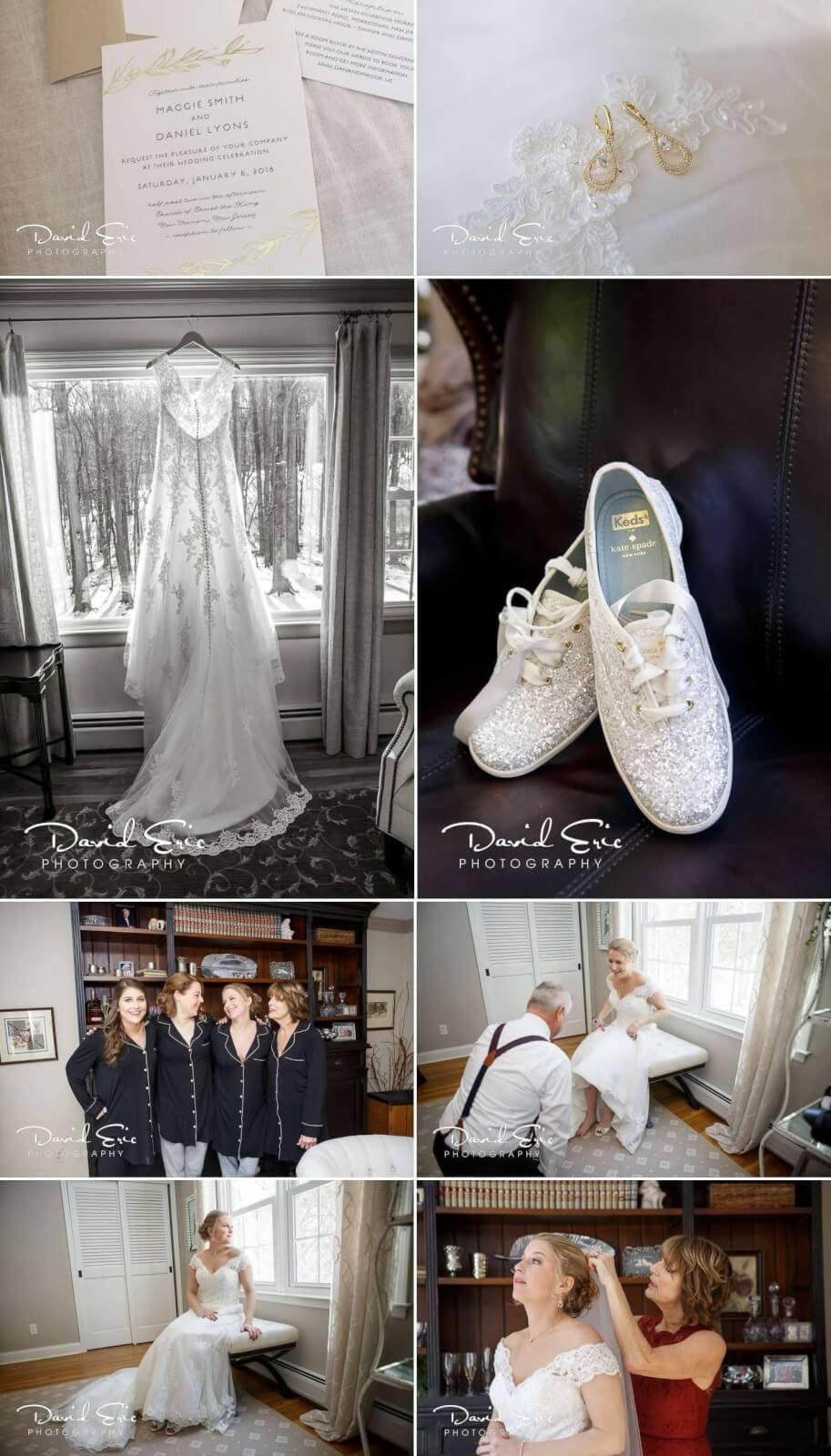 wedding photo at the westin govornor morris in Brides Prep photos