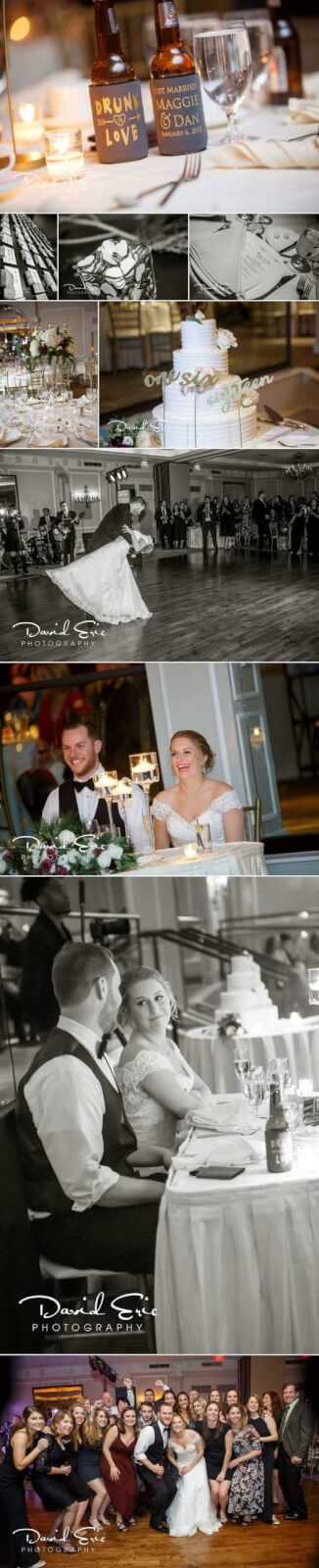 wedding photo at the westin govornor morris in reception photos