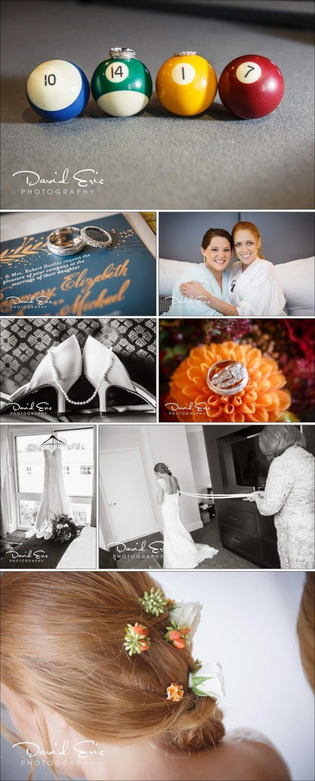 Wyndham Hamilton Park photos of Bride getting ready
